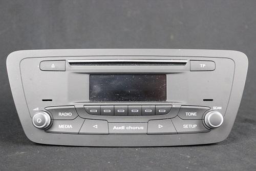 audi facelift q3 8u chorus radio tuner cd player 8u0035160. Black Bedroom Furniture Sets. Home Design Ideas