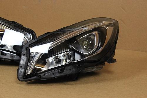 mercedes c117 cla headlights scheinwerfer voll led. Black Bedroom Furniture Sets. Home Design Ideas