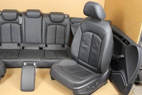 audi a3 8v sportback 5 t rer innenausstattung sitze leder. Black Bedroom Furniture Sets. Home Design Ideas