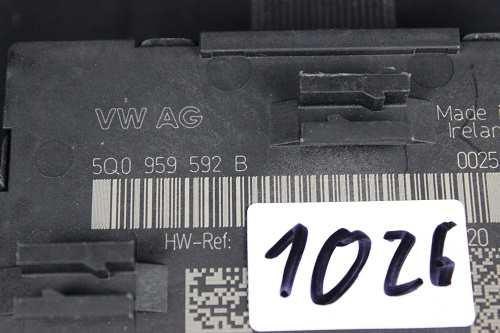 Audi A3 S3 8V Türsteuergerät Steuergerät Tür Door Unit 5Q0959592B 5Q0 959 592 B